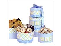 Baby boy cookie gift boxes