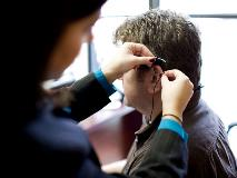 fitting a hearing aid