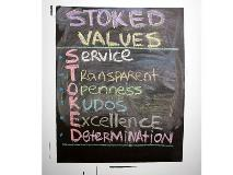 Stoked values