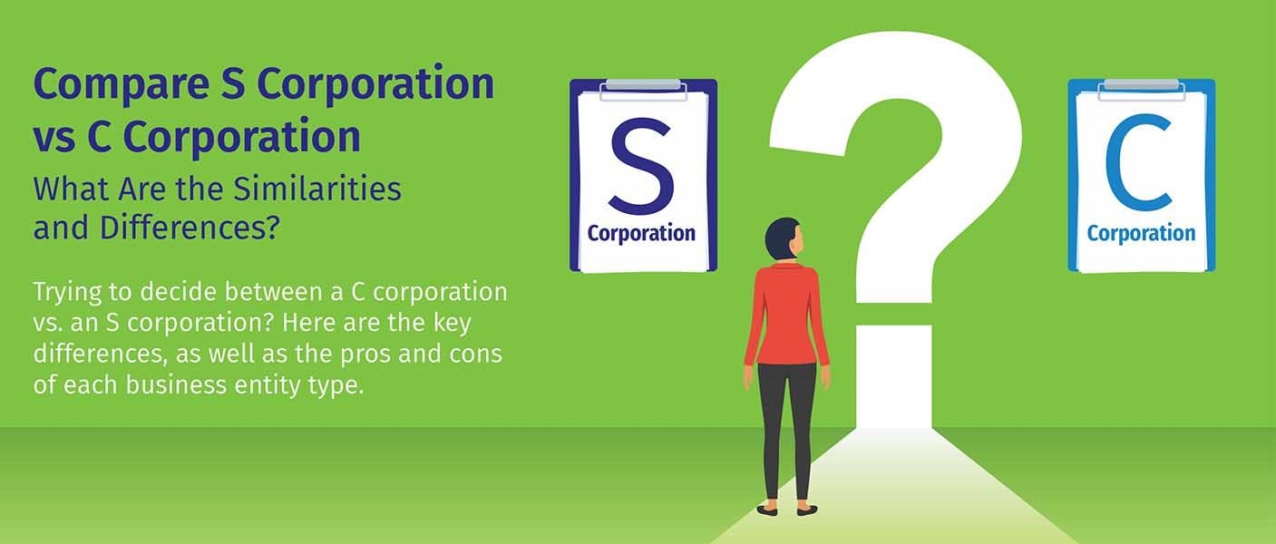 Form 2553 s corp vs c corp - differences & benefits | bizfilings