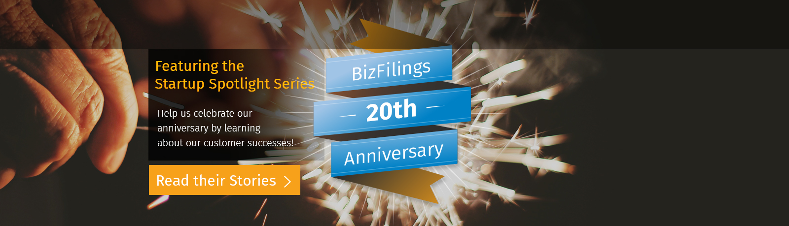 Featuring the Startup Spotlight Series. Help us celebrate our anniversary by learning about our customer successes!